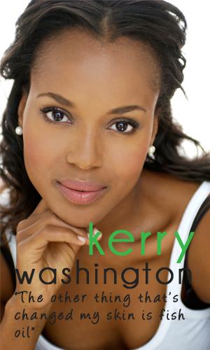 K'Mich Weddings - wedding tips- skincare- Kerry Washington - Fresh.Beautiful Skin